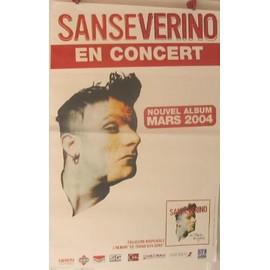 Sanseverino - 2004 - AFFICHE MUSIQUE / CONCERT / POSTER