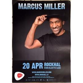 Marcus Miller - AFFICHE MUSIQUE / CONCERT / POSTER