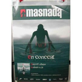 MASNADA - AFFICHE MUSIQUE / CONCERT / POSTER
