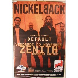 NickelBack - 2004 - AFFICHE MUSIQUE / CONCERT / POSTER