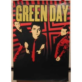 Green Day - AFFICHE MUSIQUE / CONCERT / POSTER
