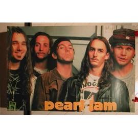 Pearl Jam - AFFICHE MUSIQUE / CONCERT / POSTER
