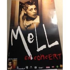 meLL - AFFICHE MUSIQUE / CONCERT / POSTER