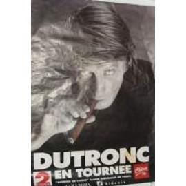 Dutronc Jacques - AFFICHE MUSIQUE / CONCERT / POSTER