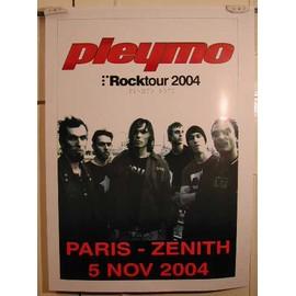 Pleymo - AFFICHE MUSIQUE / CONCERT / POSTER