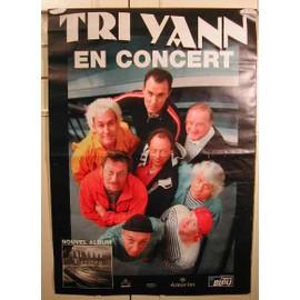 Tri Yann - AFFICHE MUSIQUE / CONCERT / POSTER