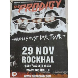 The PRODIGY - AFFICHE MUSIQUE / CONCERT / POSTER