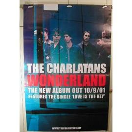The Charlatans - Wonderland - AFFICHE MUSIQUE / CONCERT / POSTER