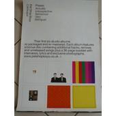 Pet Shop Boys - Affiche Musique / Concert / Poster