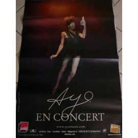 AYO - AFFICHE MUSIQUE / CONCERT / POSTER
