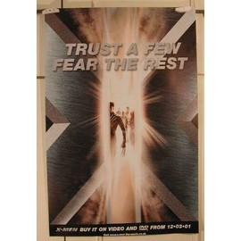 X Men - Trust a Few - AFFICHE MUSIQUE / CONCERT / POSTER
