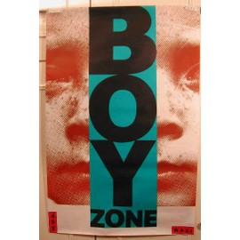 Boy Zone - AFFICHE MUSIQUE / CONCERT / POSTER