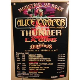 Cooper Alice - AFFICHE MUSIQUE / CONCERT / POSTER