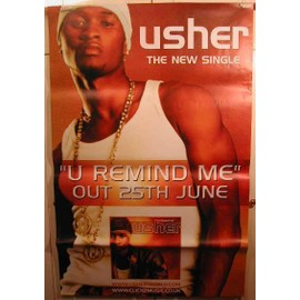 Usher - AFFICHE MUSIQUE / CONCERT / POSTER