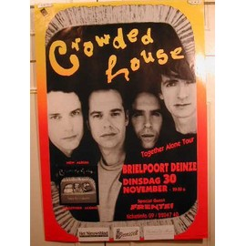 Crowded House - AFFICHE MUSIQUE / CONCERT / POSTER