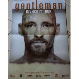 Gentleman - Diversity Tour - AFFICHE MUSIQUE / CONCERT / POSTER