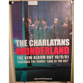 Charlatans The - AFFICHE MUSIQUE / CONCERT / POSTER