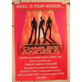 Charlie's Angels - AFFICHE MUSIQUE / CONCERT / POSTER