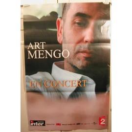 Art Mengo - AFFICHE MUSIQUE / CONCERT / POSTER