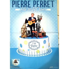 Pierre PERRET - AFFICHE MUSIQUE / CONCERT / POSTER