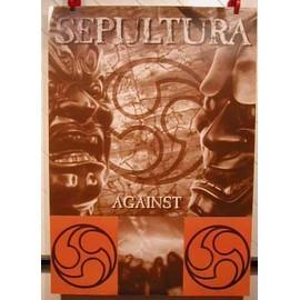 SEPULTURA - AFFICHE MUSIQUE / CONCERT / POSTER