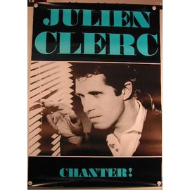 Clerc Julien - AFFICHE MUSIQUE / CONCERT / POSTER