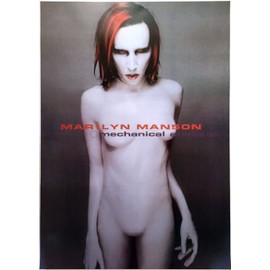 Marilyn Manson - Mechanical Animals - AFFICHE MUSIQUE / CONCERT / POSTER