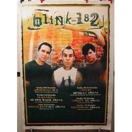 BLINK 182 - AFFICHE MUSIQUE / CONCERT / POSTER