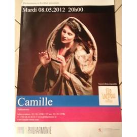 Camille - 2012 - AFFICHE MUSIQUE / CONCERT / POSTER