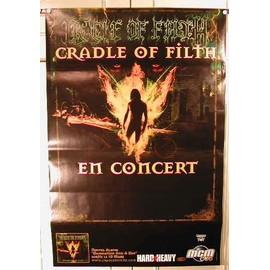 Cradle Of Filth - AFFICHE MUSIQUE / CONCERT / POSTER