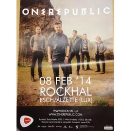 One Republic - AFFICHE MUSIQUE / CONCERT / POSTER
