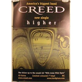 CREED - AFFICHE MUSIQUE / CONCERT / POSTER