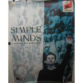 SIMPLE MINDS - Paris - AFFICHE MUSIQUE / CONCERT / POSTER