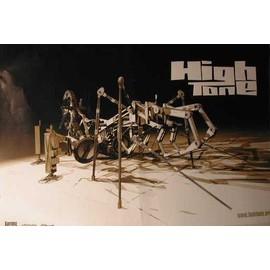 HIGH TONE - AFFICHE MUSIQUE / CONCERT / POSTER