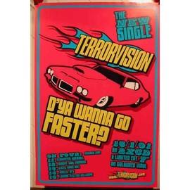 Terrorvision - AFFICHE MUSIQUE / CONCERT / POSTER