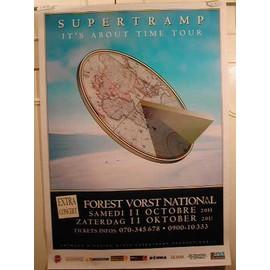 Supertramp - It's About Tile - AFFICHE MUSIQUE / CONCERT / POSTER