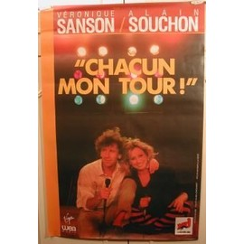 SANSON Véronique - Chacun Mon Tour - AFFICHE MUSIQUE / CONCERT / POSTER