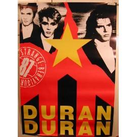 Duran Duran - AFFICHE MUSIQUE / CONCERT / POSTER