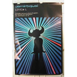 Jamiroquai - Little L - AFFICHE MUSIQUE / CONCERT / POSTER