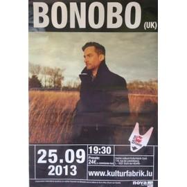 Bonobo - AFFICHE MUSIQUE / CONCERT / POSTER