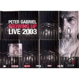 Peter GABRIEL - UP - Live 2003 - AFFICHE MUSIQUE / CONCERT / POSTER