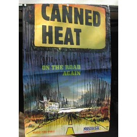 Canned Heat - 2004 - AFFICHE MUSIQUE / CONCERT / POSTER