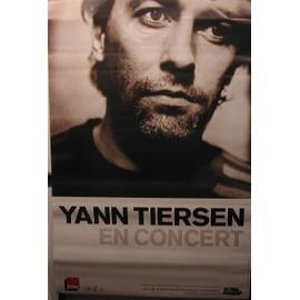 Yann TIERSEN - AFFICHE MUSIQUE / CONCERT / POSTER