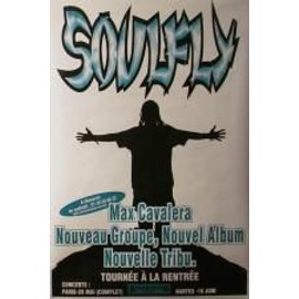 Soulfly - AFFICHE MUSIQUE / CONCERT / POSTER