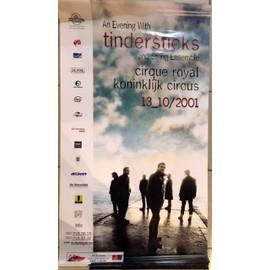 Tindersticks - Tournée 2001 - AFFICHE MUSIQUE / CONCERT / POSTER