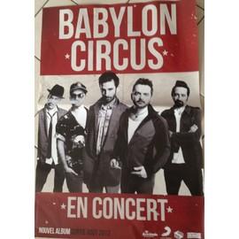 Babylon Circus - AFFICHE MUSIQUE / CONCERT / POSTER