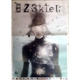 EZEKIEL - EZ3kIeL - AFFICHE MUSIQUE / CONCERT / POSTER