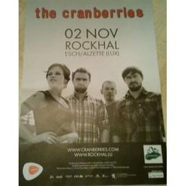 The Cranberries - AFFICHE MUSIQUE / CONCERT / POSTER