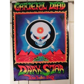 Grateful dead - Dead Dark Star - AFFICHE MUSIQUE / CONCERT / POSTER