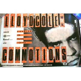Lloyd Cole & the commotions - AFFICHE MUSIQUE / CONCERT / POSTER